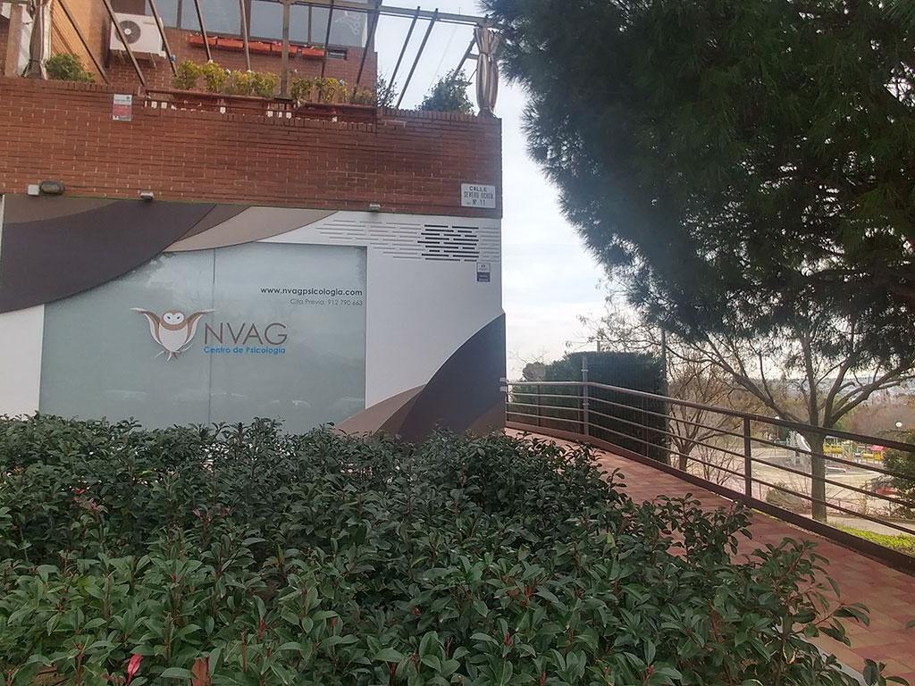 NVAG Centro de Psicología. Psicóloga en Alcobendas (Madrid)